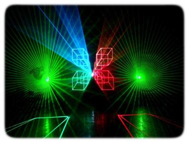 заказать лазерное шоу на праздник и корпоратив